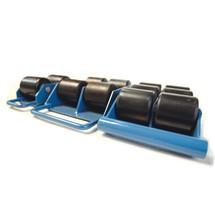 Patins de movimentação BASIC com rodas rigídas, de 2500 a 6000 Kg.