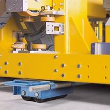 Patins de movimentação reguláveis BASIC, de 6000 a 24000 Kg.
