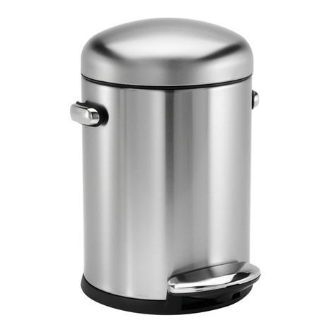 Pattumiera in acciaio INOX 4,5 litri