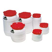 PE-Weithalsfässer, 6 - 68 Liter