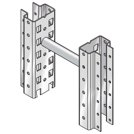 Peça de afastamento para estanteria de paletização META MULTIPAL