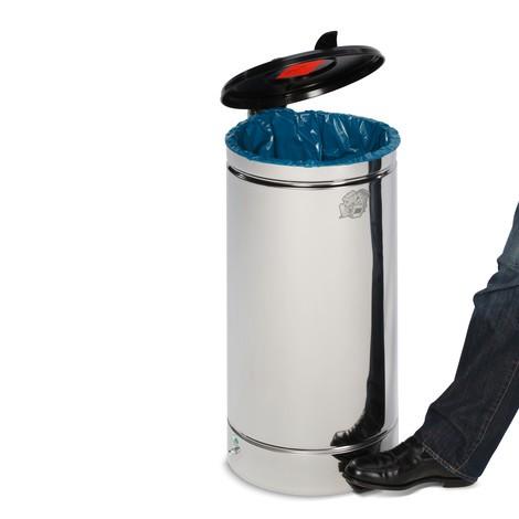 Pedal-affaldsbeholderen Euro-Pedal, 60 liter