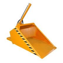 Pelle pour chariot élévateur, hydraulique, peinte, volume 0,5 m³