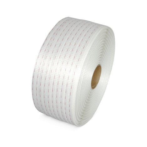 PET strapping, woven, core Ø 76 mm