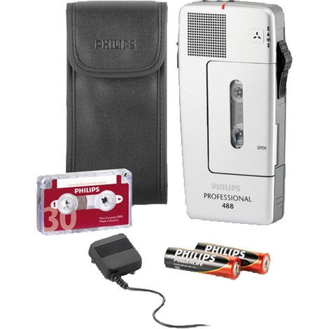 PHILIPS Diktiergerät Pocket Memo® 488