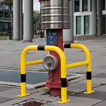 Pillar guard, outdoor use