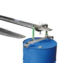 Pinza per tamburo, capacità di carico 250 kg