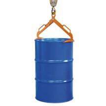 Pinza per tamburo LGZ per stazionamento in lamiera d'acciaio da 200 litri e coperchio in acciaio