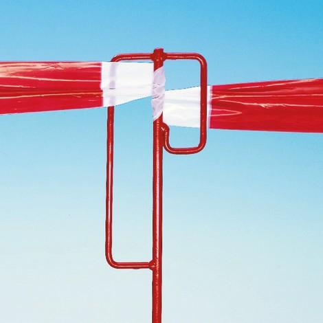 Piquet à ruban de balisage pour ruban de signalisation