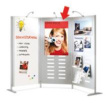 Plakattasche DIN A1 für Trennwandsystem
