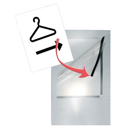 Plakattasche DIN A4 für Infosäule/-ständer