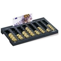 Planche de comptage DURABLE pour euros (pièces et billets)