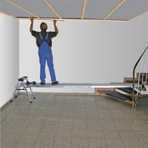 Planche télescopique KRAUSE® avec revêtement antidérapant