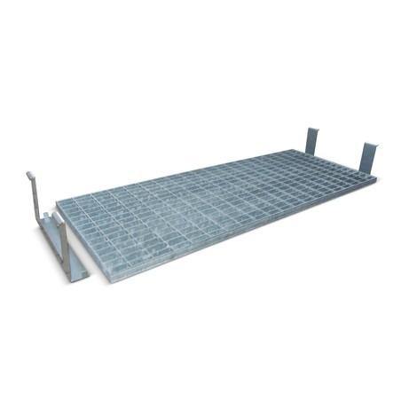 Plancher intermédiaire grillagé pour box de sécurité GD-N