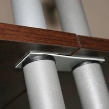 Plank connector voor plank OFFI