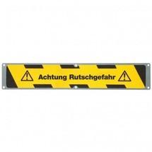 Plaque antidérapante «Attention risque de dérapage»