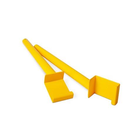 Plastic Pimpact beskyttelse Monteringsværktøj til hylde Stand