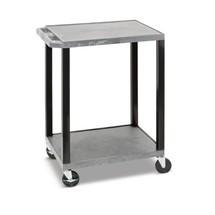 Plastový transportní vozík BASIC, složnými plochami