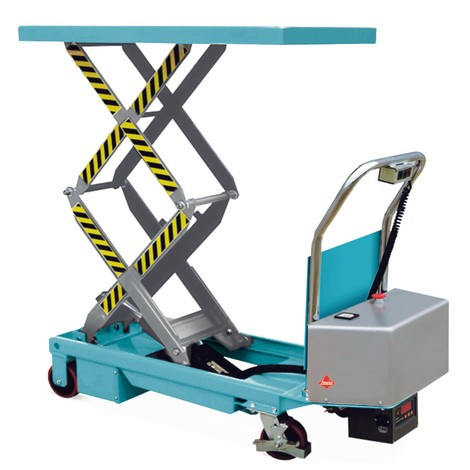 Plataforma elevadora móvil de tijera doble Ameise®, eléctrica