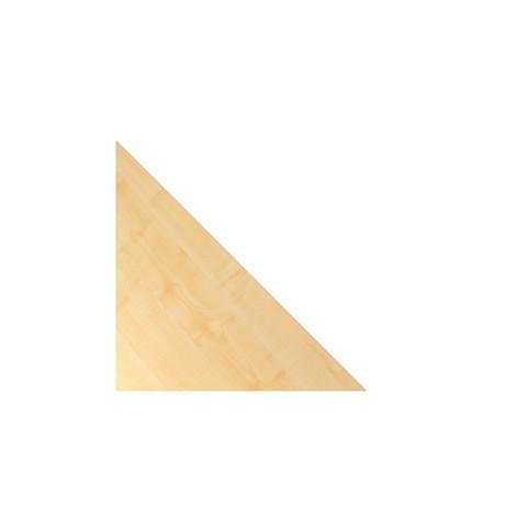 Plateau de jonction pour bureau avec commutateur mémoire, en triangle