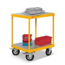Plateauwagen Ameise ®, laadvlak 700x700mm, capaciteit 250kg