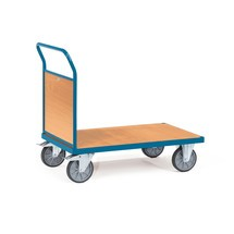 Plateauwagen fetra®, met houten kopwand