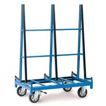 Platenwagen fetra® tweezijdig. Capaciteit 1200 kg