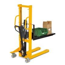 Platform voor orderpicken van niet-gepalletiseerde goederen