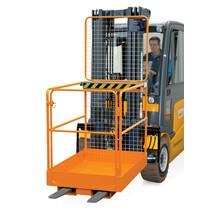 Platforma robocza BASIC, wersja niemiecka, udźwig 300 kg
