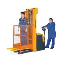 Platforma robocza do wózka z dyszlem i wózka widłowego, wersja niemiecka