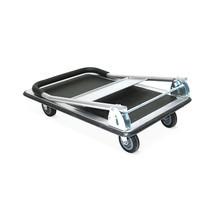 Platformwagen BASIC met laadvlak van plaatstaal. Capaciteit 150 of 250 kg
