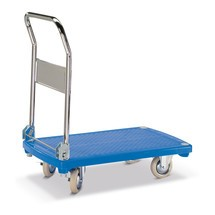 Platformwagen BASIC. Platform van kunststof van 81x50 cm. Capaciteit 200kg