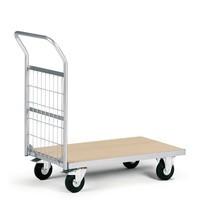 Platformwagen met houten laadvlak. Capaciteit 200 kg