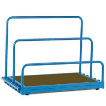 Plattenständer fetra® Basismodell (ohne Bügel). Tragkraft 1200 kg
