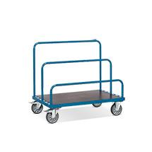 Plattenwagen fetra® Basismodell (ohne Bügel). Tragkraft 500 oder 1200 kg
