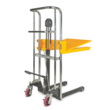 Plattform-Stapler. Tragkraft 400 kg, Hubhöhe bis 1200 mm