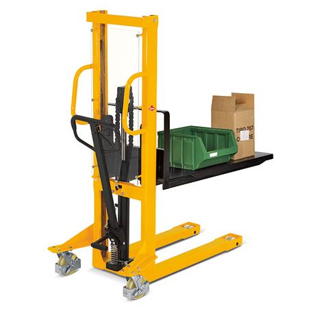 Plattform zum Kommissionieren unpalettierter Waren für Hydraulik-Stapler Ameise®