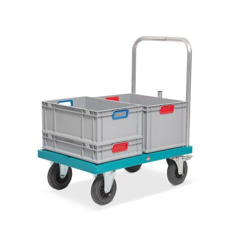 Plattformwagen Ameise®, mit Kunststoffplattform