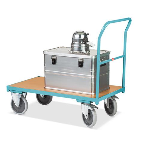 Plattformwagen Ameise®. Mit offenem Schiebebügel