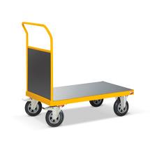 Plattformwagen Ameise® mit Stirnwand. Tragkraft 500kg
