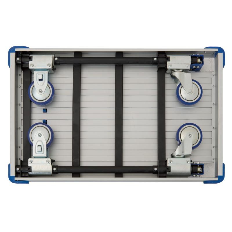 plattformwagen aus aluminium klappbar tragkraft bis 1. Black Bedroom Furniture Sets. Home Design Ideas