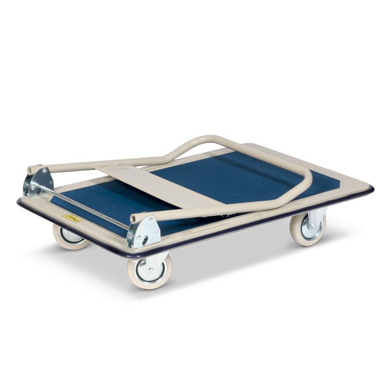 Plattformwagen BASIC aus Stahlblech. Tragkraft bis 250 kg