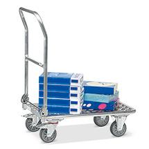 Plattformwagen fetra® aus Aluminium. Tragkraft 150 kg
