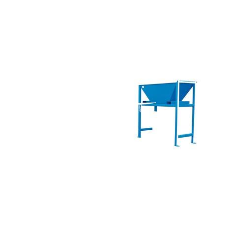 Plnicí nálevka pro přepravní pytle BIG BAG, VxŠxH 2 050 x 1 980 x 980 mm