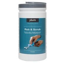 PlumWipes Rub & Scrub Reinigungstücher
