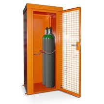 Plynová nádoba so strechou pre max. 28 fliaš, ohňovzdor