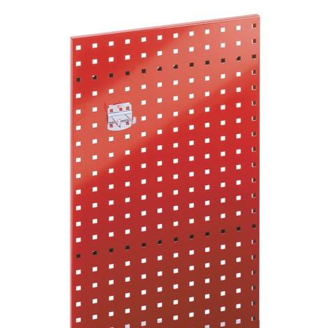 Płyta perforowana, wys. x szer. 450 x 1000 mm