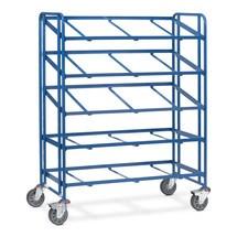 Podlahový vozík Eurobox fetra®, otevřený rám