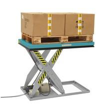 Podnoszone stoły nożycowe Ameise. Wys. podn. 1010 mm. Udźwig od 500 do 3000 kg.