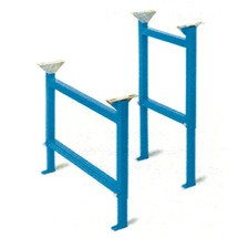 Podpora do przenośnika rolkowego do ciężkich ładunków, stojak podwójny typ U1